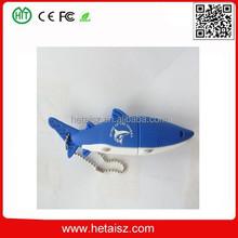pvc shark shape usb stick 1tb, usb shark, sea animal shark usb flash drive no minimum