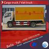 3000KG DFAC light cargo van, dry van, mobile van