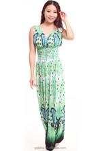 New 2015 21colors plus size XL-XXXL summer new deep v-neck peacock bohemia long beach dress sexy casual maxi dress