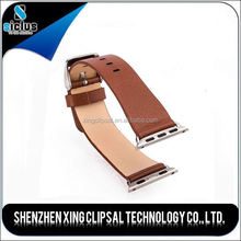 leather watch band for apple band,38mm 42mm watch custom band for apple watch