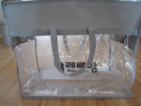 Custom clear pvc bedding bags household industrial use packing bag pvc quilt bag