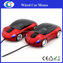 3D Optical Car Shape USB Wired Mouse Mice for Computer PC Laptop Notebook