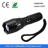 most powerful rechargeable outdoor focus zoom led torch light