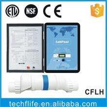 chlorine generator/swimming pool chlorinator/salt electrolyzer