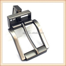 High grade zinc alloy custom belt buckle with plating Titanium black