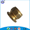 15mm compression male end cap brass cap fitting for copper