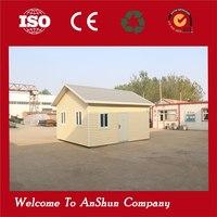 prefabricated economical galvanized corner quick assemble house