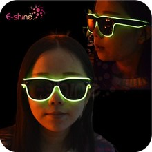 Party Supply EL Wire Party LED Sunglasses for Night Parties