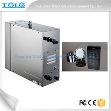 Elettrico 6kw generatore della turbina a vapore, sauna umida macchina spa per la vendita