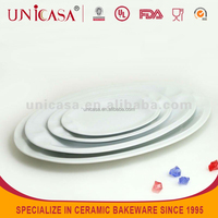 Plate hotel ware porcelain, hotel service ware Dishes