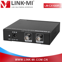 LM-CX100IR 100m HDMI 1.3 + HDCP 1.1 HDMI Extender Transmitter and Receiver Over Coax Cable With IR, EDID