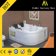 Modern and fashionable luxurious corner tub and shower combo for sale