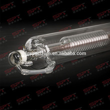 SPT laser 80w co2 laser tube, Professional product High technology metal tube