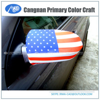 New type national design cover fans product Fabric side mirror cover