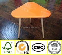 popular KD children colorful furniture wood folding table