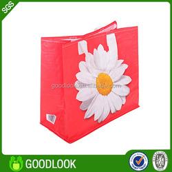 OEM/ODM PP woven/non woven decorative reusable shopping bag GL119