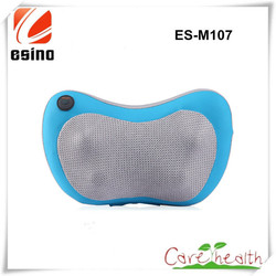 Esino Neck Massager Pillow, Shoulder Massager with Quality PU Leather Cover, Car Seat Kneading Neck And Shoulder Massager