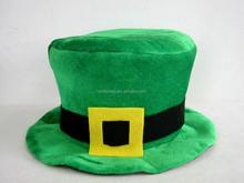 Party green irish hat st patrick's day decor souvenir shamrock hat