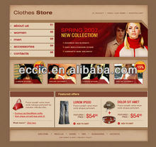 Apperal Online Store Simple Functions Easy Manage Professional Design Clear Pages Smooth Operate Business Successfully
