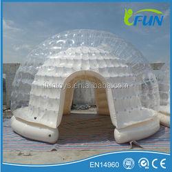 5m inflatable tent igloo /inflatable igloo tent /igloo inflatable tent for sale