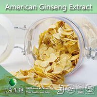 Top Quality American Ginseng Extract 30% Ginsenoside, American Ginseng Root Extract,Panax quinquefolium L,