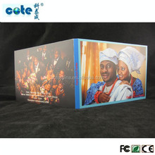 2015 new ideas 4.3'' wedding invitation video cards ,new video brochures