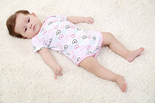 3pcs/set Wholesale high quality Cotton baby romper baby clothes