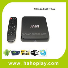 2015 Android Smart TV Box Amlogic S812 Chip 4K 2G/8G XBMC Dual band wifi Full HD Android 4.4 Media Player M8s android TV Box