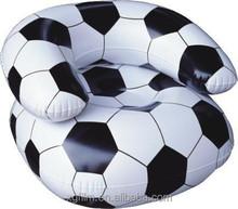 Xangai XG venda quente TPU crianças sofá inflável de futebol