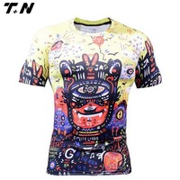 Skin tight t shirts for men/ fitness wear/ Rash guard surf