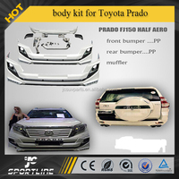 PP body kits fit for Toyota Prado FJ150 half aero 13