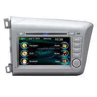 Car Radio Auto Audio Stereo Multimedia DVD Player GPS Navigation for Honda Civic 2012