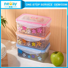 Top quality applied transparent plastic food container