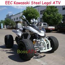 New Quad Bike Kawasaki EEC 250cc Racing ATV with Electric Start