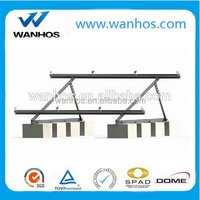 Adjustable triangle solar mounting bracket