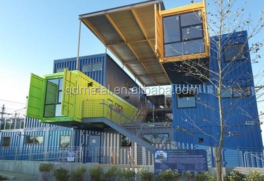 Stunning moderne maison de rcipient luxe conteneur prfabriqu motel dplacer maison de rcipient with maison prfabrique