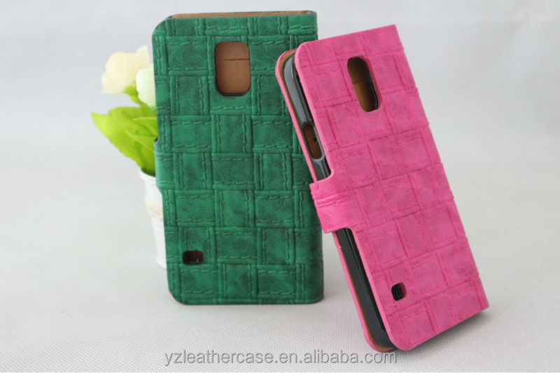 Hot sales crocodile two mobile phones leather case, couples colors leather cases