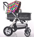 O mais popular EN71 barato carrinho de bebê com rodas grandes