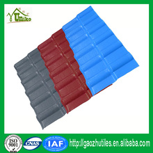 China plastic products factory most popular synthetic resin tile products for home roof waterproofing sheet