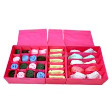 sock bra underwear storage drawer organizer storage set of 3