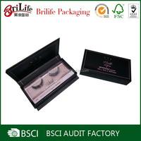 Fancy cheap eyelash box packaging supplier