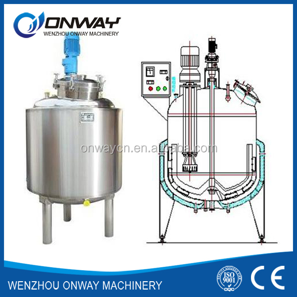 PL high efficient factory price detergents bleding mixer price of mixing tank