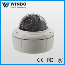 Metal case dome hd kamera 720p office monitoring network camera