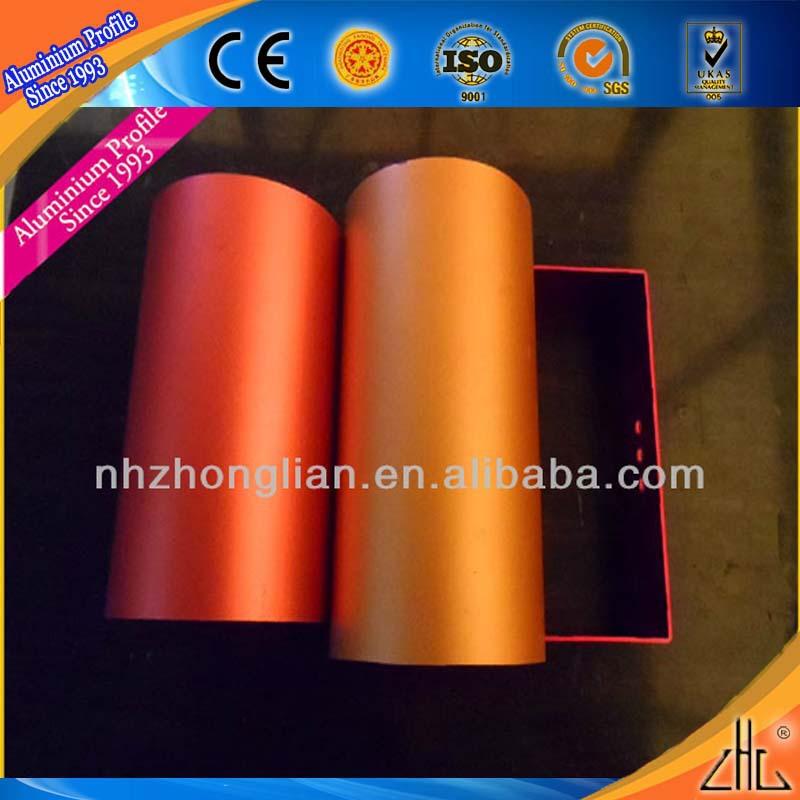 Hot! cnc torneamento de peças de precisão/cnc alumínio 6082 prototypeing serviços/vermelho anodização cnc parte