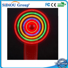 Sell like hot cakes portable led mini lighted hand fans led hand fan