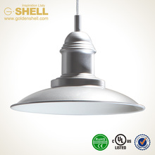 Top grade new arrival spinning industry style hang light gu24 13w