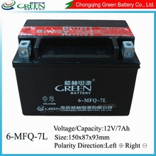 Sealed 12 volts gel vrla storage battery dry cell motorcycle battery