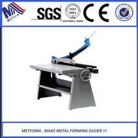 high quality economy manual guillotine shearing machine by hand operation