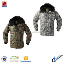 winter mens military waterproof double closed coat