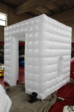 giant white inflatable cube tent
